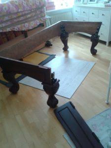montaż i demontaż stołu bilardowego
